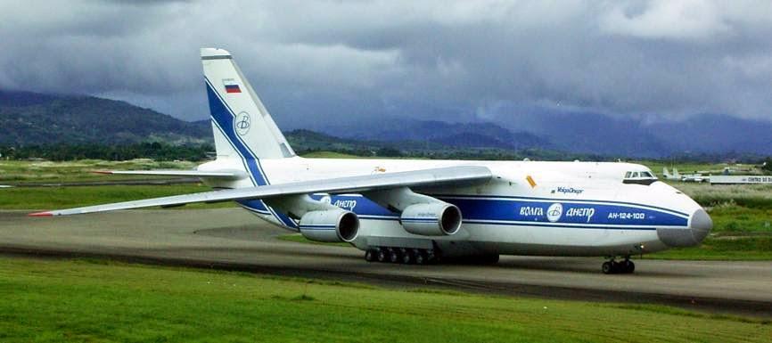 Pesawat Terbesar di Dunia ke-4 Antonov An-124