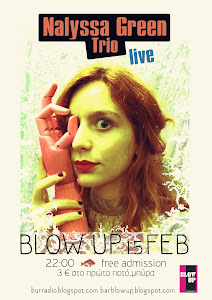 Nalyssa Green and her band live at Blow up