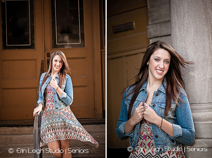 Senior Model photos at West Bottoms in Kansas City