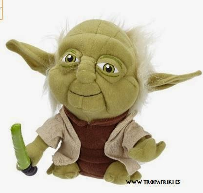 Peluche Yoda Star Wars 9,99 €