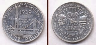 Médaille GGI San Francisco 1939