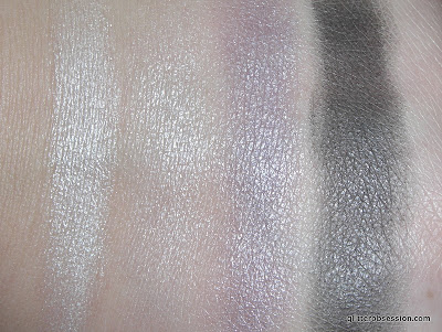 Essence Quattro eyeshadow in 01 XOXO, Essence Quattro eyeshadow in 01 XOXO swatch