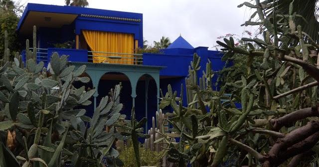 A Casa do Yves Saint Laurent