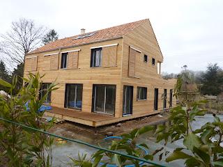Maison ossature bois cernay la ville vall e de la for Maison cernay