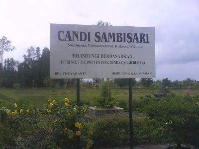 Jalan-jalan ke candi Sambisari Kalasan, Sleman, Yogyakarta