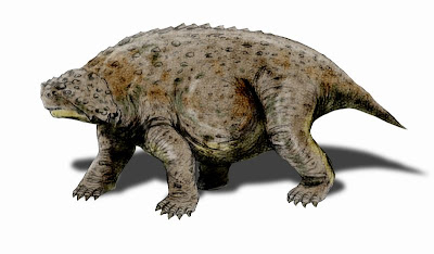 reptiles extintos de africa Pareiasuchus