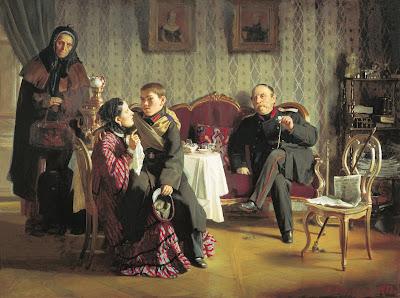 Alexei Korzukhin, Separation, 1872