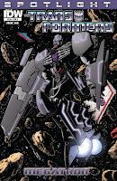The Transformers Spotlight: Megatron #1 Cover