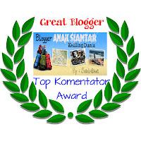 Top Komentator Award Majalah Siantar