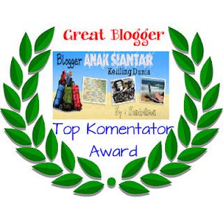 Award Top Komentator dari Majalah Siantar