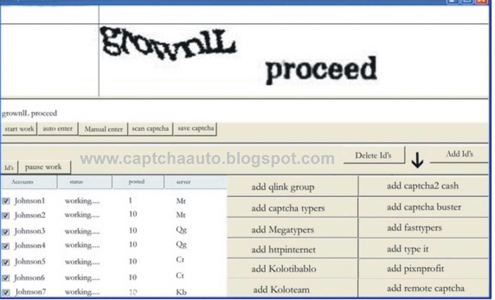 Software Captcha Multi ID Megatypers FREE