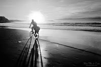 Bicicleta en la playa