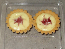 Cheese Tart (Blueberry/strawberry/Coklat) - Min order 50 pcs RM35.00