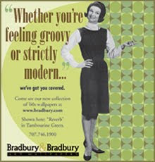Bradbury Wallpaper AD ♥