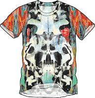 desain kaos Abstract Fullbody
