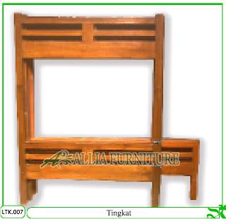 tempat tidur anak klender tingkat kotak allia furniture