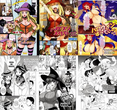 Halloween Manga 1