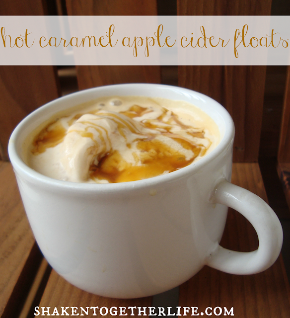 If you like caramel apples, this warm drink is perfect for you!!