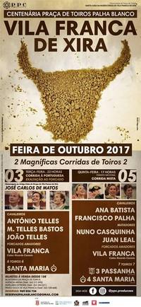 Vila Franca de Xira- Feira Taurina 2017