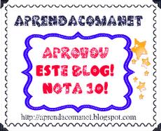Carinho recebido da Zil do blog recomeçar