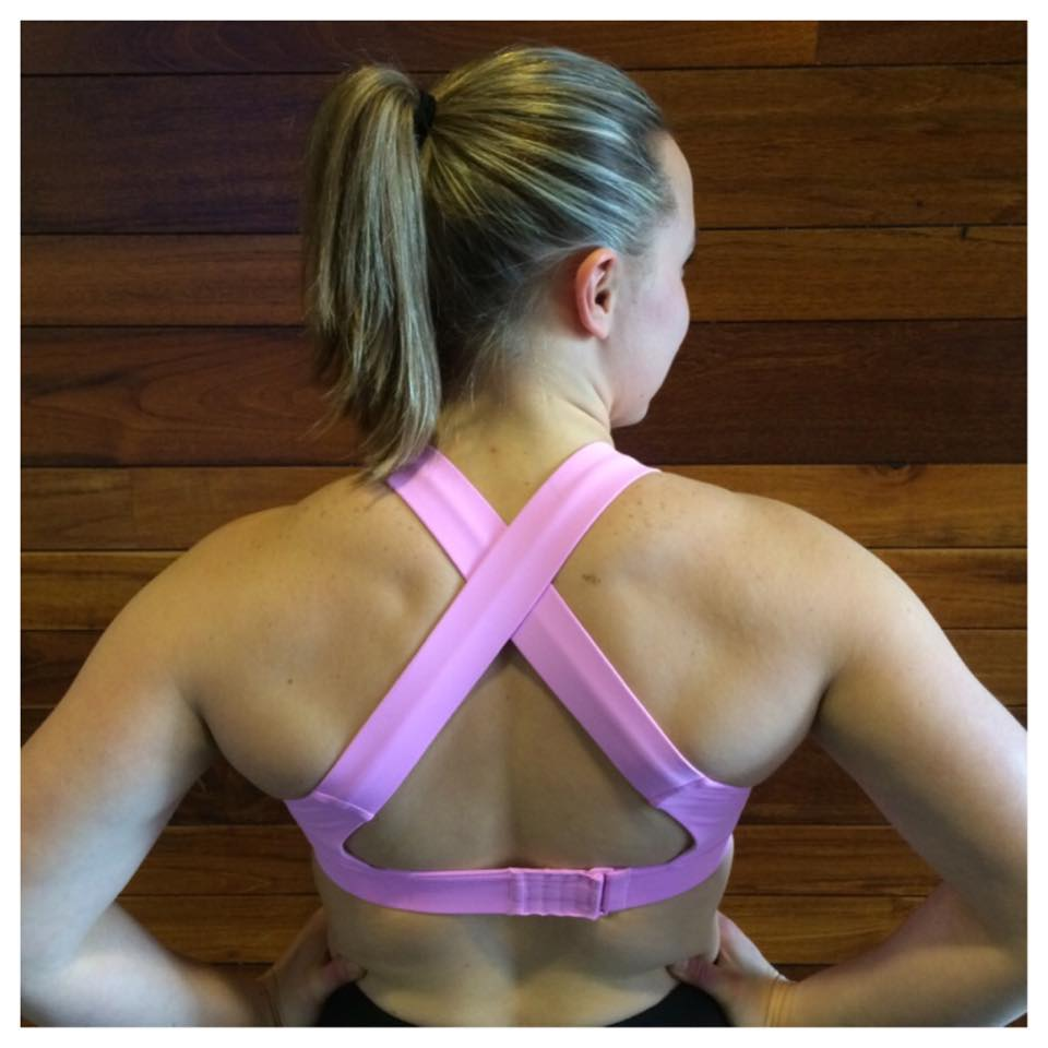 lululemon adjustable all sport bra