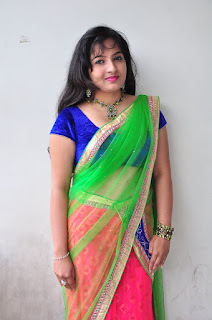 New actress Roshini half saree Picture shoot 027.jpg