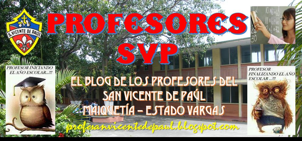 El Blog de los Profesores del San Vicente de Paúl