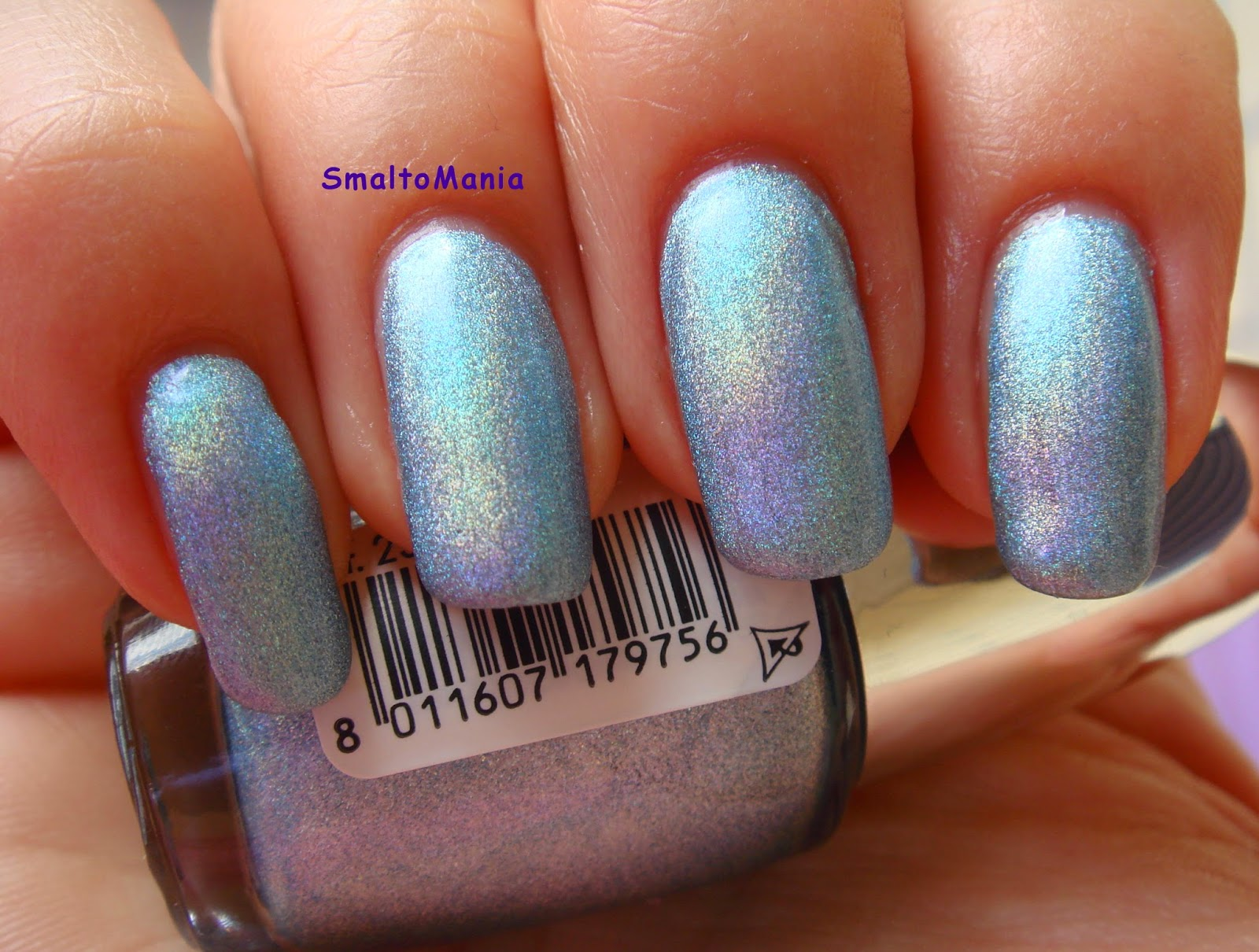Pupa n.33 Holographic Sky Blue