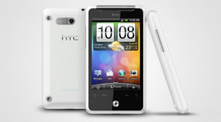 HTC Gratia Android phone (European version of the AT&T Aria) announced
