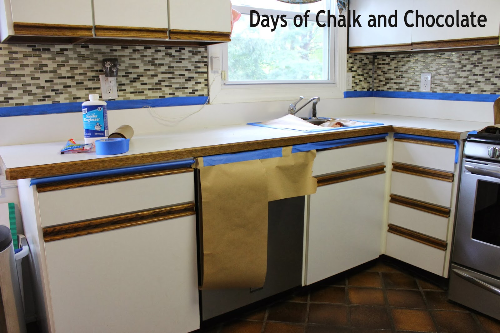 Counter Top Paint How To Paint Your Countertops Days Of Chalk And Chocolate