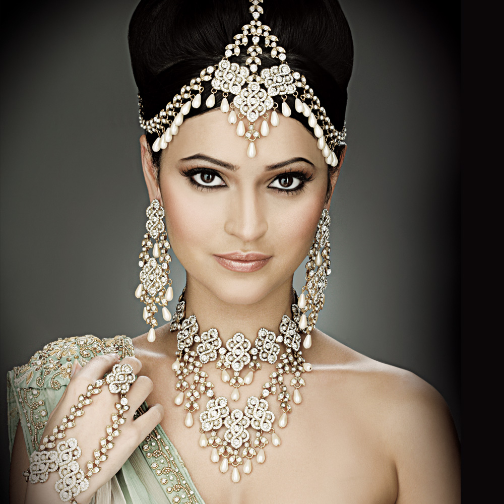 TOP FASHION Indian Bridal Hairstyles Photos And Videos