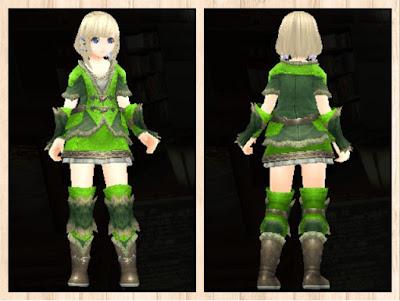 緑竜の衣 蛍光緑3
