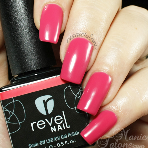 Revel Nail Gel Polish Gardner Swatch