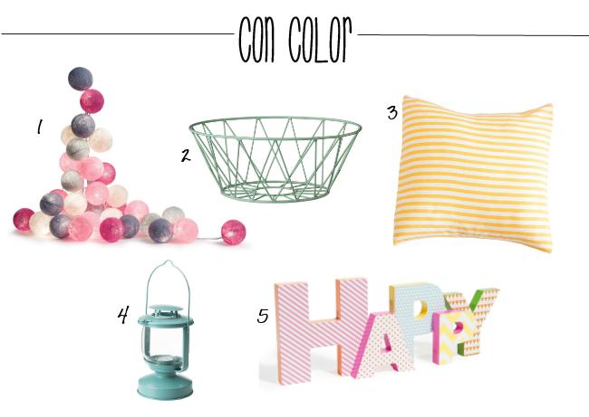 accesorios con color para primavera