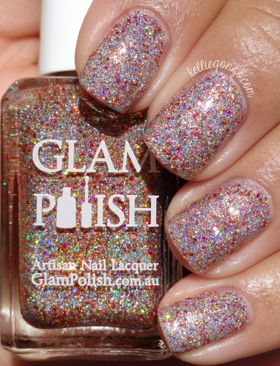 KellieGonzo: Glam Polish Halloween 2015 Trio Collection Swatches ...