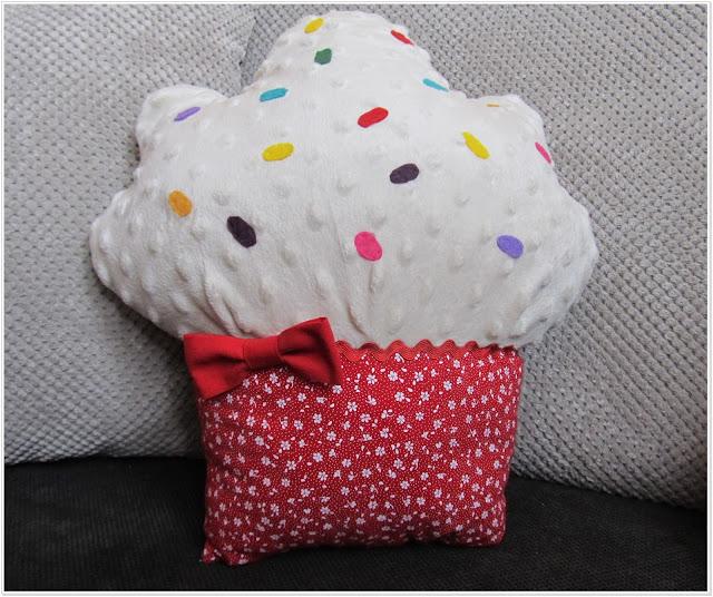 Poduszka muffinka dla EVKI