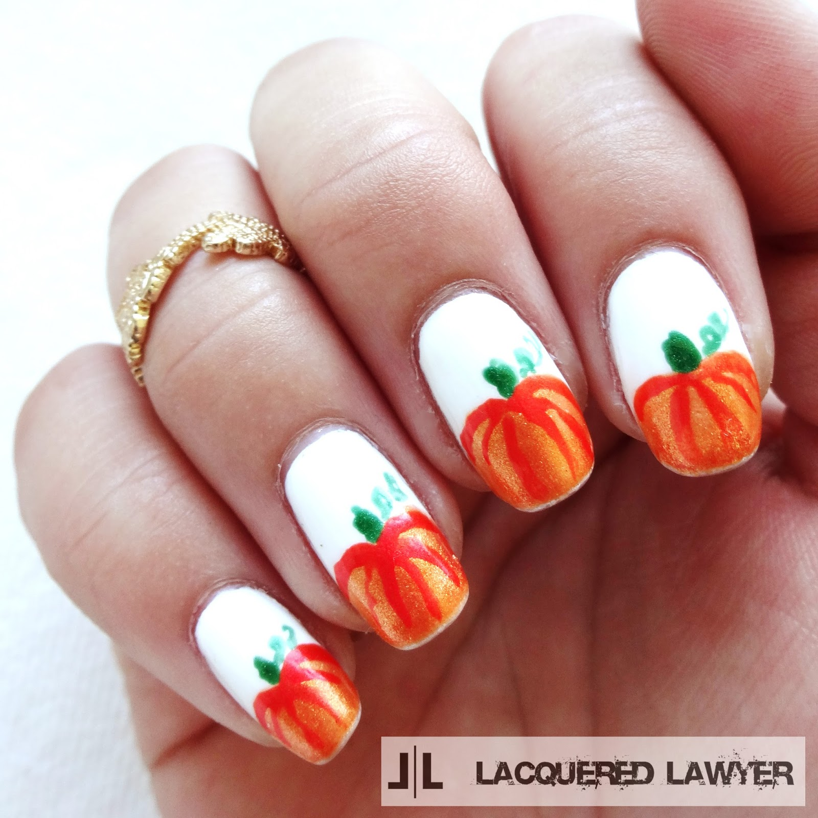 Lacquered lawyer nail art blog pumpkin patch pumpkin patch pumpkin nail art prinsesfo Choice Image