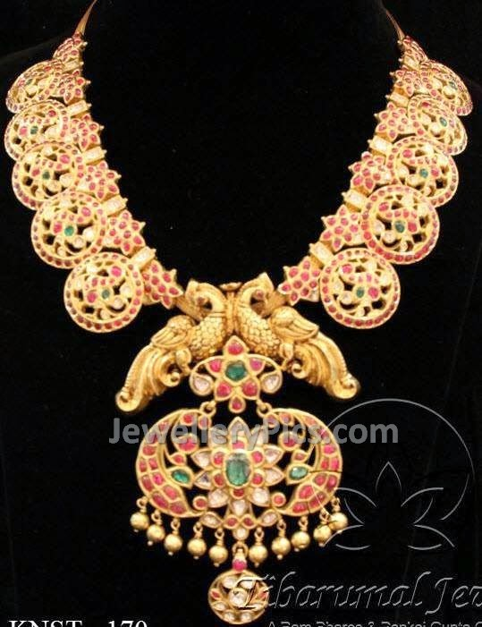ruby kundan jewellery