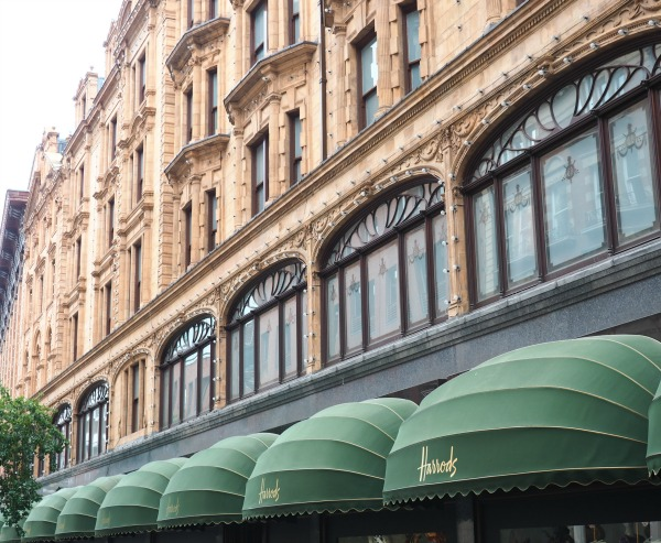 Harrods Department Store London