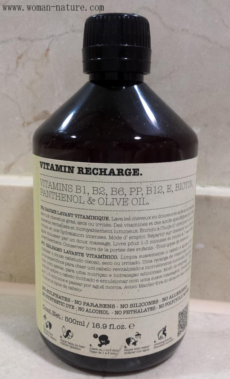 Bálsamo lavante Eva Cosmetic Vitamin Recharge