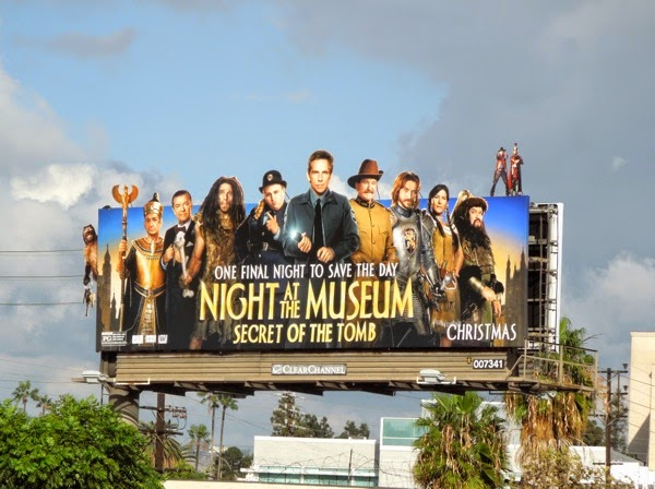 Night at Museum Secret of Tomb movie billboard