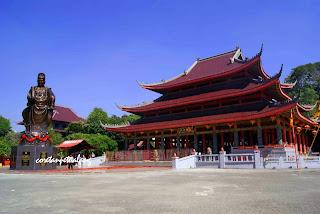 budhist monastry in semarang