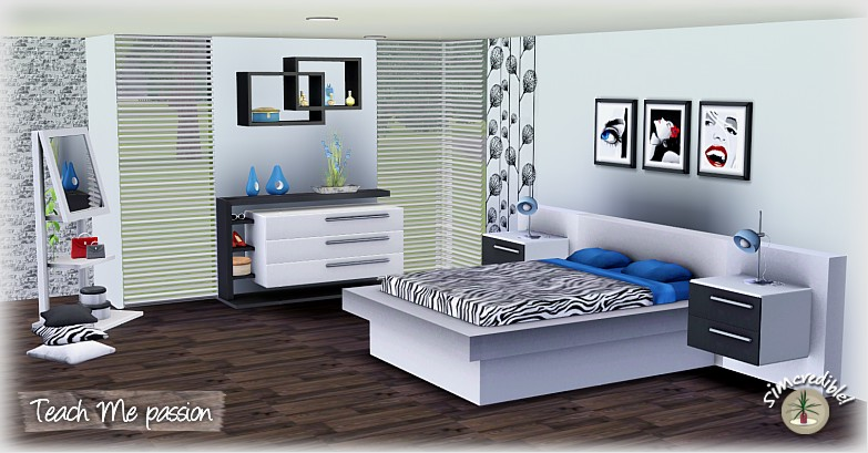 Bedroom Designs Sims 3 my sims 3 blog: teach me passion bedroom setsimcredible designs