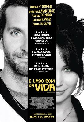 Baixar Filme O Lado Bom da Vida (Dual Audio) Gratis romance robert de niro o l julia stiles jennifer lawrence drama comedia chris tucker bradley cooper 2012