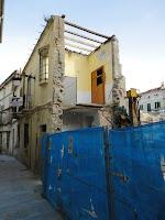 edificio histórico en ruina, calle Tomás de Cózar 14