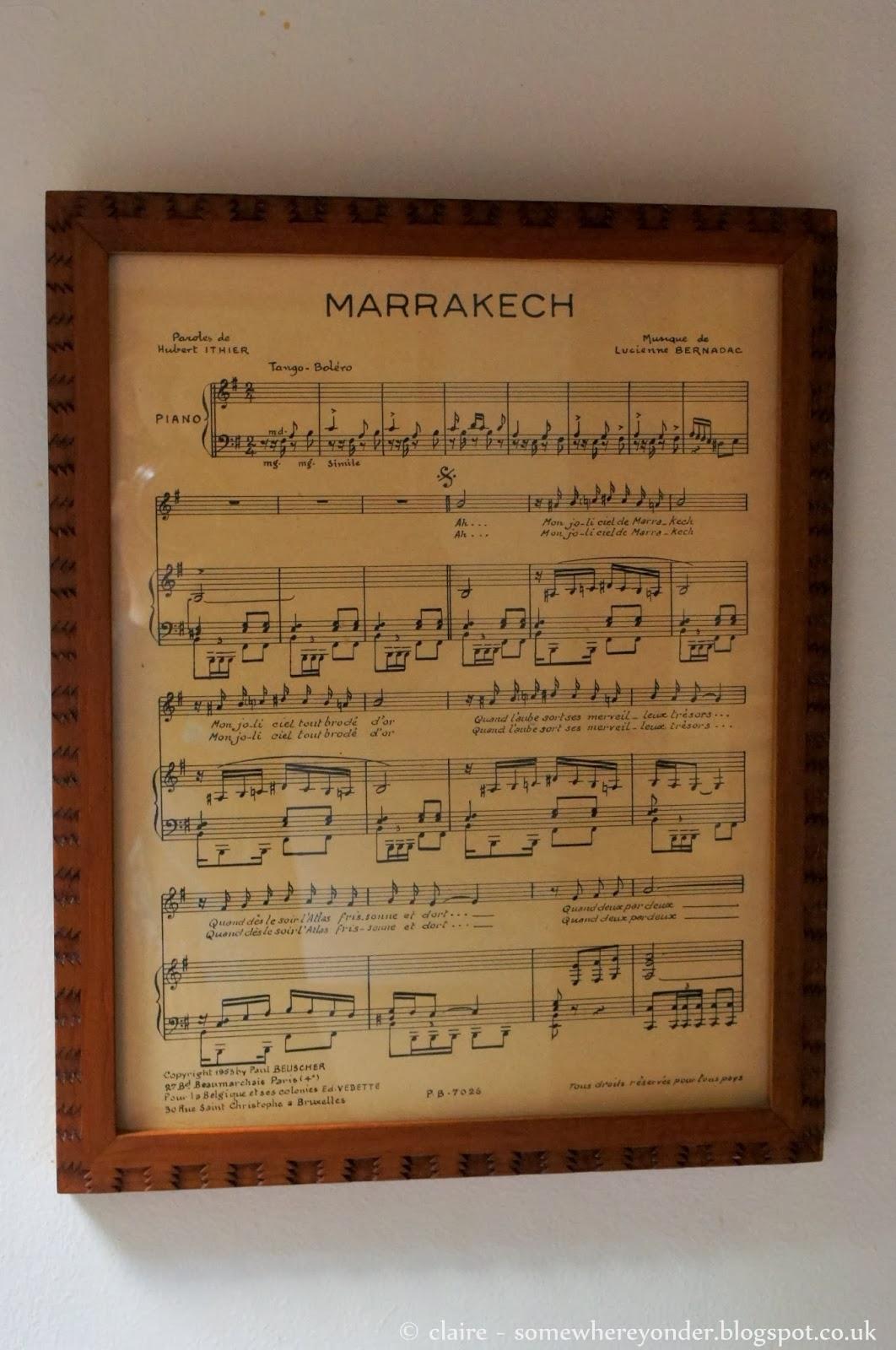 The music of Marrakech
