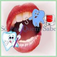 Higienização bucal correta: escovação e uso do fio dental.