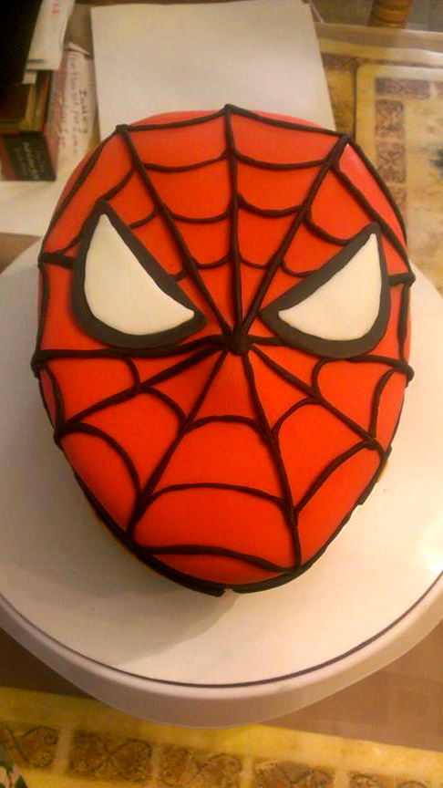Spiderman template for cake for Spiderman template for cake