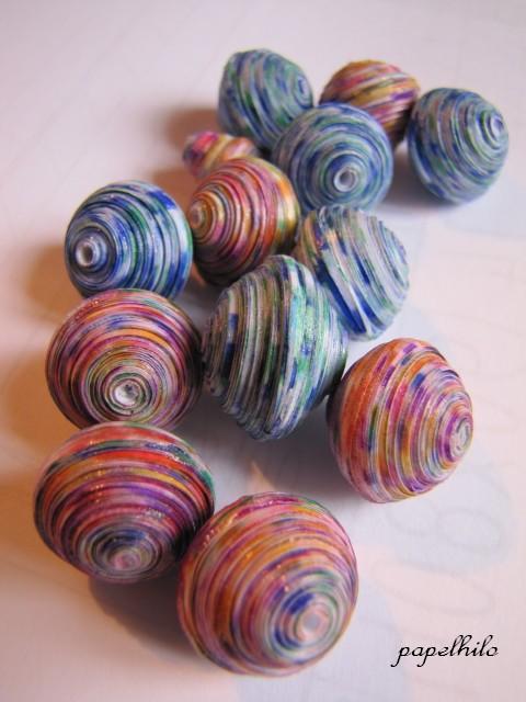 Bien-aimé papelhilo : les créations de l'araignée: tuto : perles en papier  SU51
