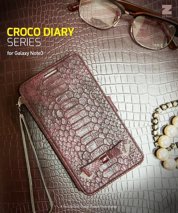 Croco Diary Case
